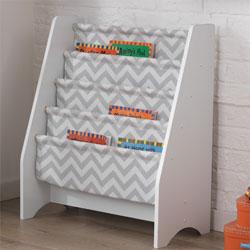 Chevron Sling Bookshelf Kids Bookshelves