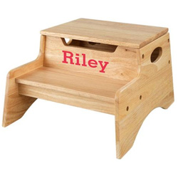 Personalized Step 'n Store Stool