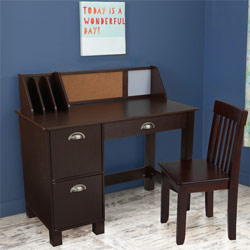 Study Desk with Side Drawers