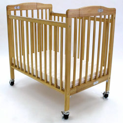 Storage Pocket Folding Crib