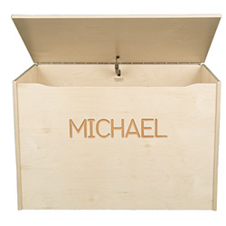 Personalized Big Toy Box