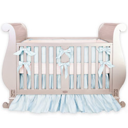 Royal Silk Crib Bedding Set