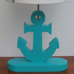 Custom Handmade Anchor Lamp