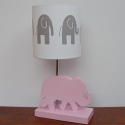 Custom Handmade Elephant Lamp