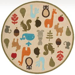 Forest Critters Rug