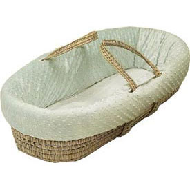 Baby Doll Heavenly Soft Baby Moses Basket