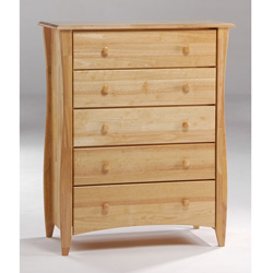Jack and Jill 5 Drawer Dresser