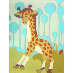Gigi Giraffe Wall Art