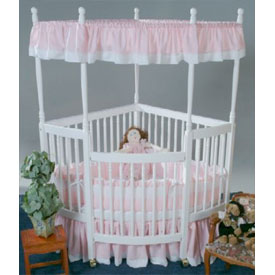 Soft Pique Corner Crib Bedding