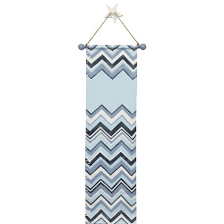 Personalized Chevron Growth Chart