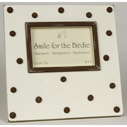 Swiss Dots Picture Frame