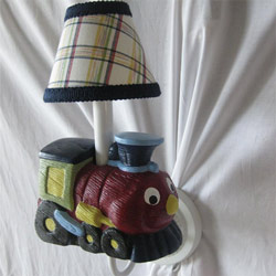Beep Beep Transportation Sconce