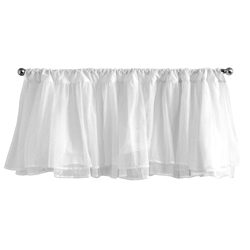 Tulle Window Valance