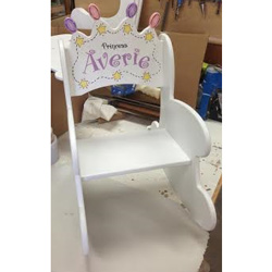 Crown A Princess Toddler Rocker