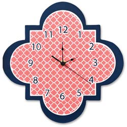 Quatrefoil Wall Clock