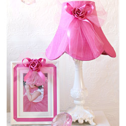 Tulle Bow Table Lamp