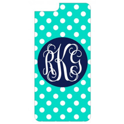 Personalized Dots iPhone Case