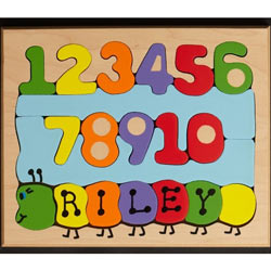 Number Name Worm Puzzle