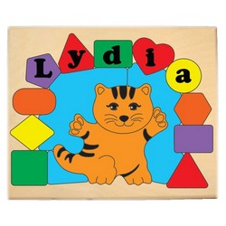 Personalized Cat Puzzle
