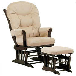 Gliding Nursery Chair buy gliders & rockers, recliner chairs at ababy.classic wooden