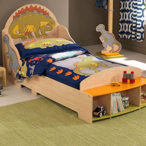 reputable site 2d94e 9e39b Dinosaur Toddler Bed