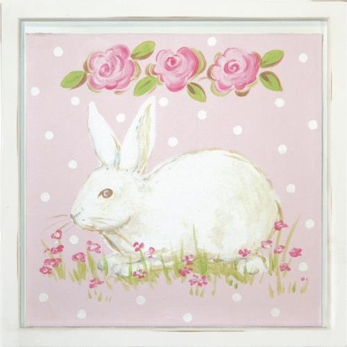 Hippity Hop Bunnies Wall Art Collection Wall Art Collections - aBaby.com