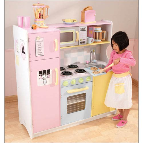 Pastel Play Kitchen