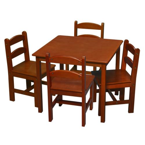 Kids Square Table And 4 Chair Set