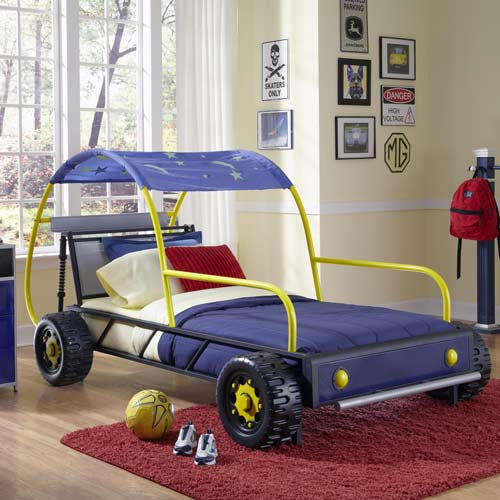 new style 5783d 8fe3e Dune Buggy Twin Bed