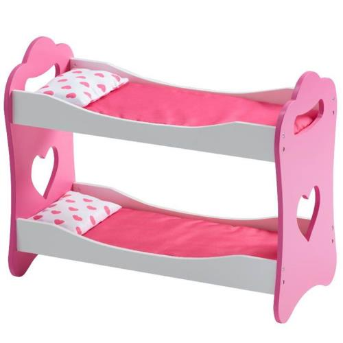 Pink 18 Inch Doll Bunk Bed Doll Furniture Ababy Com