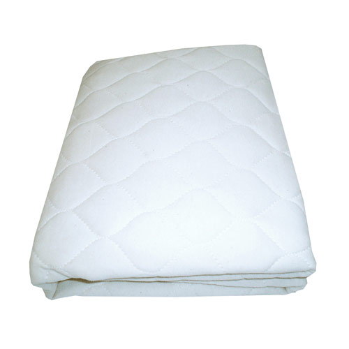 Organic Quilted Portable Crib Mattress Pad