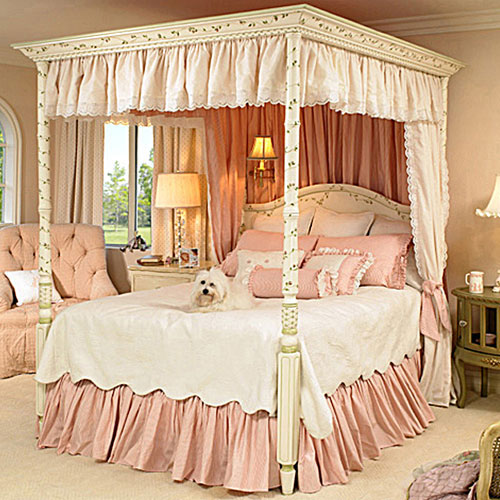 Girls canopy beds kids beds on sale with free shipping