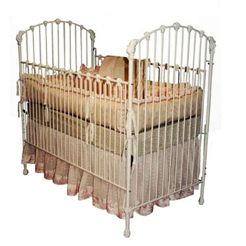 Iron Baby Cribs Antique Masterpiece Iron Baby Crib Ababy