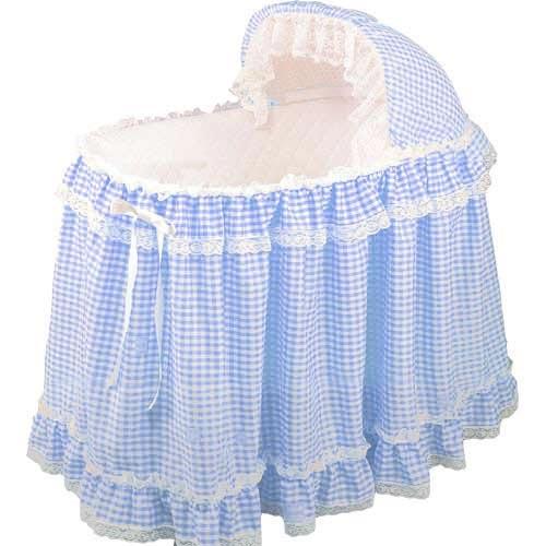 Gingham Bassinet Set Baby Doll Bassinet Set Bassinet Bedding Sets