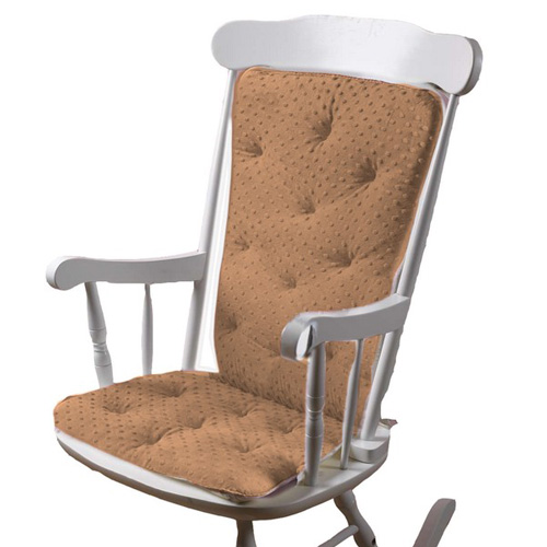 Superb Minky Dot Adult Rocking Chair Cushion Uwap Interior Chair Design Uwaporg