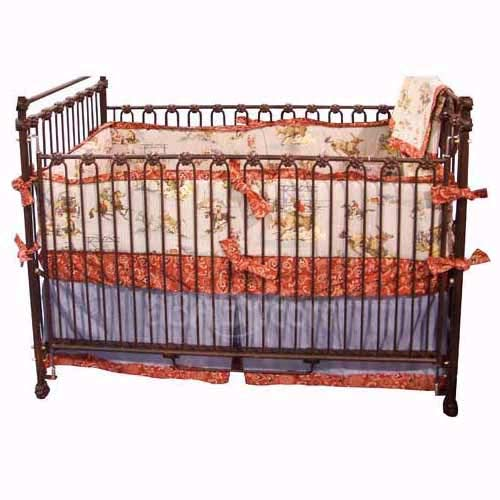 Blue Rodeo Crib Bedding Set