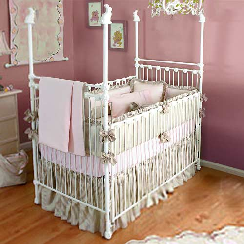 Buy Bunny Rabbit Iron Crib | Iron Baby Crib Sets Online | aBaby