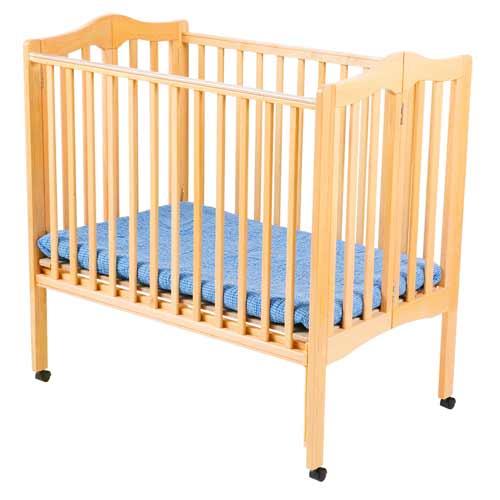 Non Dropside Folding Portable Crib