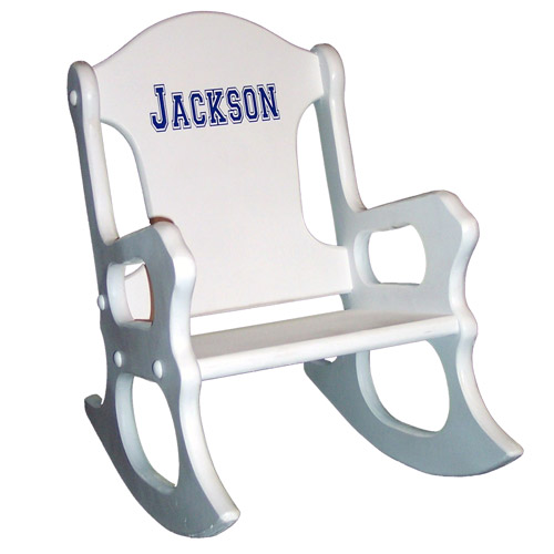 Surprising Boys Personalized Rocking Chair Bralicious Painted Fabric Chair Ideas Braliciousco
