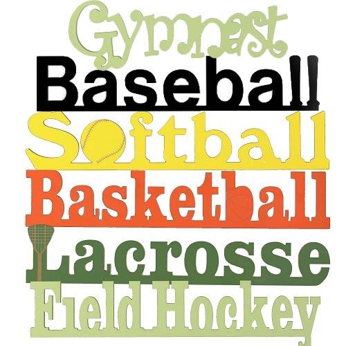 Custom Sports Words Wall Art Sports - aBaby.com