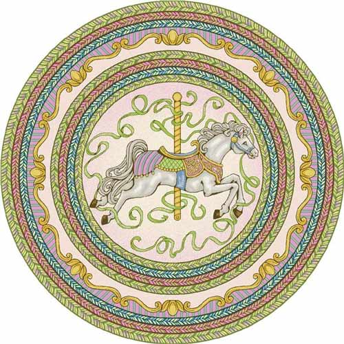 Carousel Rug Novelty Rugs Ababy Com