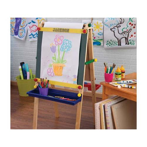 Personalized Artist Easel With Paper Crafts Amp Art Time