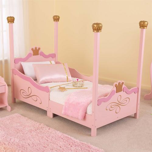 Princess Toddler Bed KidKraft Wooden