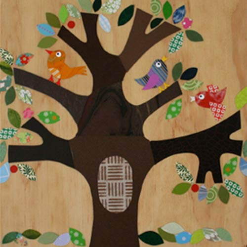Tree Of Life Collage Art Work Little Critters Ababy Com