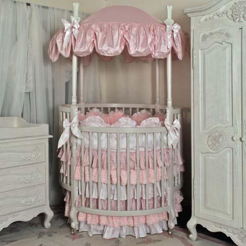 Princess The Pea Round Crib Bedding