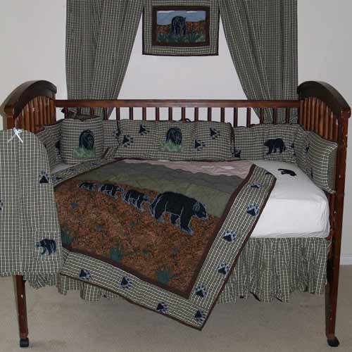 Bear country crib bedding theme crib bedding ababy bear country crib bedding sciox Image collections