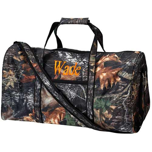 Personalized Camo Duffle Bags For Kids Toddler Travel