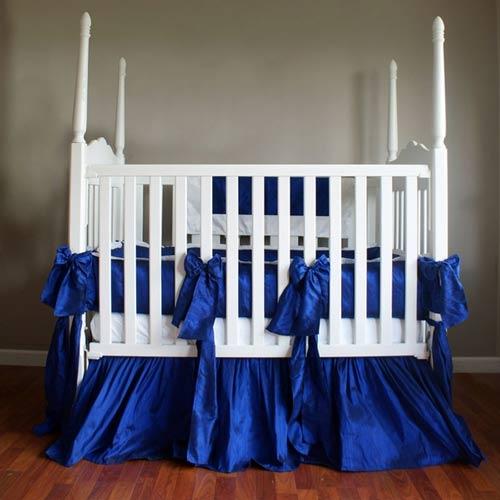 Royal Blue Crib Bedding Personalized Crib Linen Ababy Com