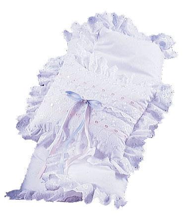 little angel baby blanket set with ribbons. Black Bedroom Furniture Sets. Home Design Ideas