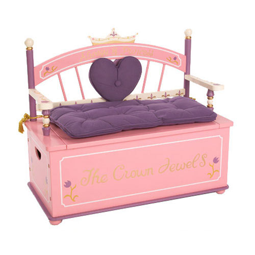 Princess Toy Boxes for Girls